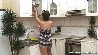 Big tit Russian slutty teen cherry forgs for anal sex - 31:52