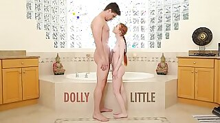 Hairy Redhead Teen Layla Reed Takes A Bug - 7:15