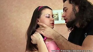 A young and tattooed teen cougar prepares the table for an action with vixens madrealhoney.sodomemaster - 8:23