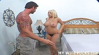Two huge surprise dildos for a hot wife pornstar Done - 10:26