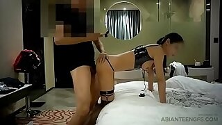 Asian chick fucked in different positions - 17:01