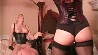 Whipped while licking mistress pussy Femdom Tube - 0:48