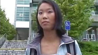 Asian school Girl Gets Fucked In A Car - 33:00