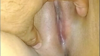 0:59: my wifes hairy pussy