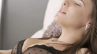 8:00: Young Anal Tryouts Luda arches her back