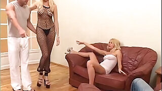 44:00: sexy blondes and big cocks enjoying a foursome MG