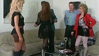 Brutal threesome with blonde - 31:00