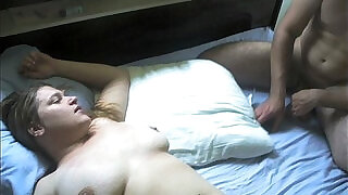 Amateur Wife shared with Husband Prt - 4:00