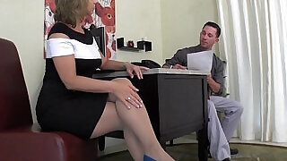 1:33: Creative Interview Technique Footjob FootFetish