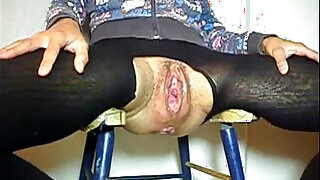 4:00: Old Granny Gets her pussy Fucked In Gaping Cunt