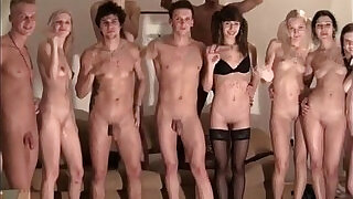 strip ended with an orgy at the party - 6:00