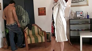 Cock hungry mature takes hard - 6:00