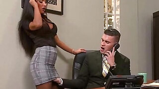 5:00: Sex Tape In Office With Round Big Boobs Girl elicia solis movie