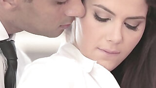 10:00: Classy officesex closeup with Valentina Nappi