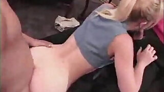 24:00: stepdad and stepson fuck his girlfriend