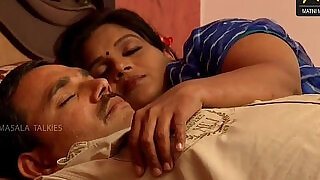 14:00: Indian wife sharing bed with her Husband friend when his husband deeply sleeping