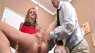 6:00: Amy Brookes Amazing Red Dress squirt scene