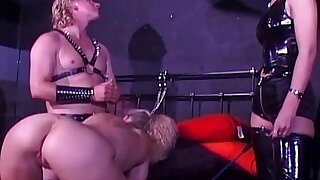52:00: Misled Slave Gets Excited During Training Session
