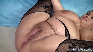 Chubby busty couples Kendra Rubby and Oral Sex - 9:36